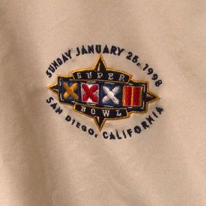 STARTER Jackets & Coats - Super Bowl 32 Starter Pullover Windbreaker